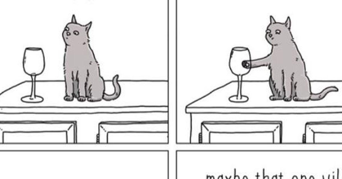 witzige karikaturen wenn tiere reden k nnten. Black Bedroom Furniture Sets. Home Design Ideas